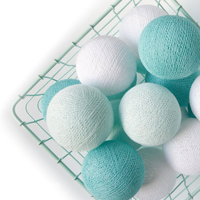 Cottonball lights mint wit M