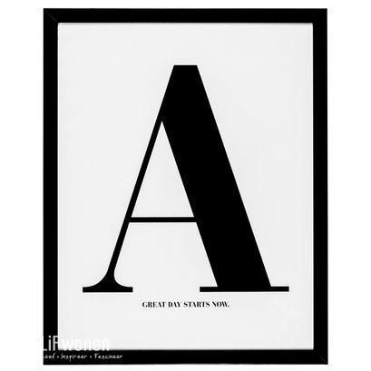 Fotolijst met poster A