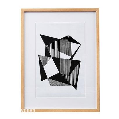 Fotolijst met print Angled Lines House Doctor