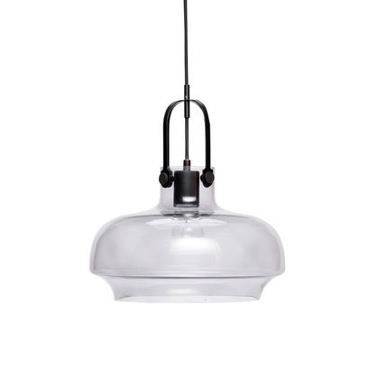 Grote glazen hanglamp