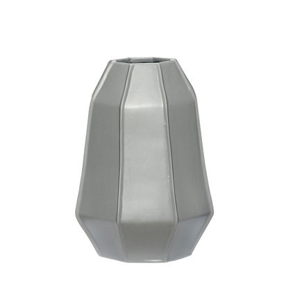 Grote grijze vaas hubsch
