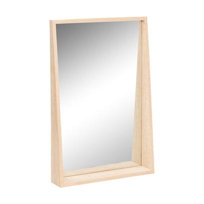 Grote houten spiegel 60x90