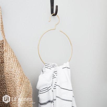 handdoekring-brass