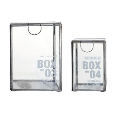 House Doctor glazen kistje box 03 box 04