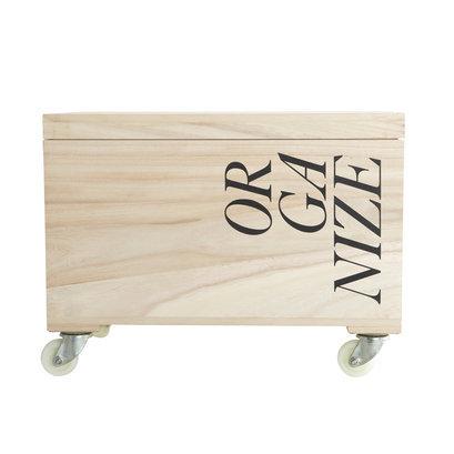 House Doctor hippe houten kist