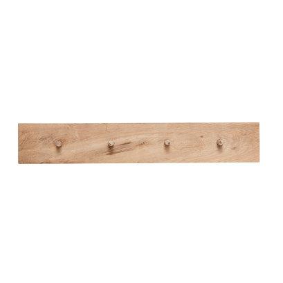 houten kapstok 4 hangers