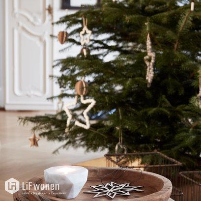 Houten kerstdecoratie