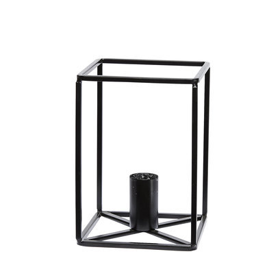 Hubsch kaarsenhouder kandelaar zwart