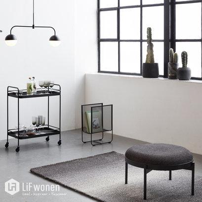 hubsch-tijdschriftenrek-mesh-zwart-metaal-sfeer-2
