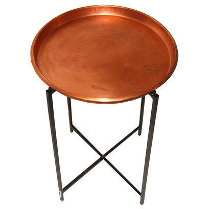Industriele ronde tafel koper S2