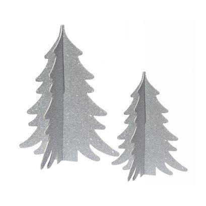 kerstboompje-zilver