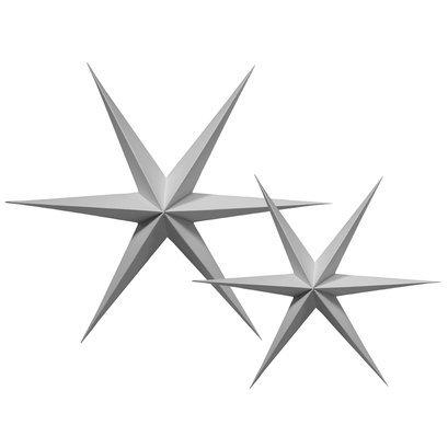kerstster-grijs