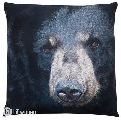 Kussen met beer