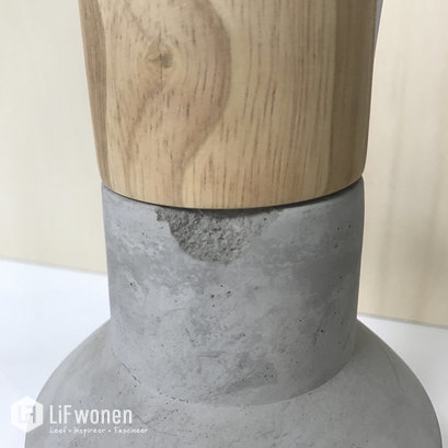 lamp-beton-gerd-hubsch-outlet-detail