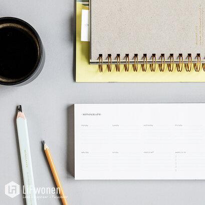 monograph-weekplannerblok