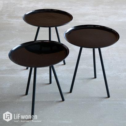 Salontafels zwart AU Maison