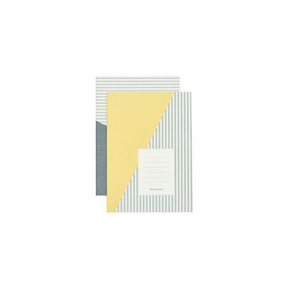set-notitieblokjes-geelgroen