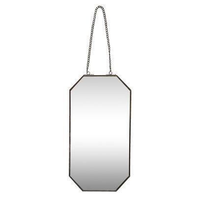 smalle achthoekige spiegel