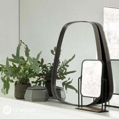 spiegel staand zwart