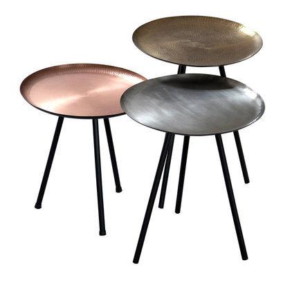 Stoere salontafel AU Maison metallic