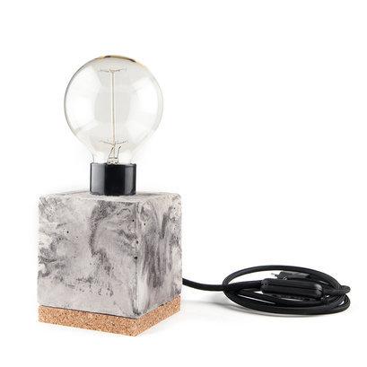 Tafellamp beton marmer