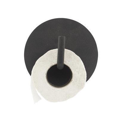 toiletrolhouder-hook-text-zwart-house-doctor