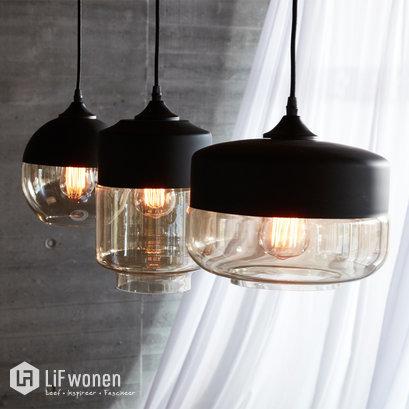 Zwarte hanglampen Hubsch