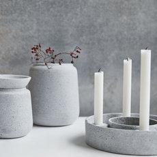 lif wonen bloempot betonlook shaper. Black Bedroom Furniture Sets. Home Design Ideas