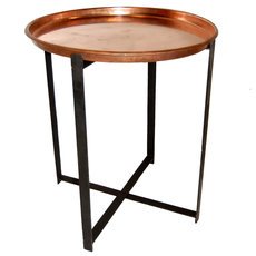 Industriele ronde tafel koper medium