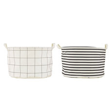Wasmand House Doctor Squares and Stripes diep